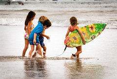 Summer Fun (Wits End Photography) Tags: surfing sand seashore street people boats tamarindo shore beach ocean streetphotography water coastline coastal costarica nautical places seaside drive pavement road roadway route sea