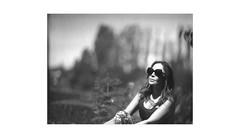 (WOGO*) Tags: film polaroid d super instant aero graflex ektar 665 178mm portrait bw bokeh