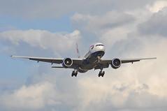 'BA29G' (BA0238) BOS-LHR (A380spotter) Tags: approach arrival landing finals shortfinals threshold belly boeing 777 200er graes internationalconsolidatedairlinesgroupsa iag britishairways baw ba ba29g ba0238 boslhr runway27r 27r london heathrow egll lhr