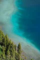 Milky Way? (Darren Umbsaar) Tags: mountains mountain carnarvon lake rockies alberta kananaskis country canadian canada water river blue aqua turquoise alpine tarn hike