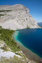 Strachan Sapphire (Darren Umbsaar) Tags: mountains mountain carnarvon lake rockies alberta kananaskis country canadian canada water river blue aqua turquoise alpine tarn hike