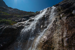 Headwall Falls (Darren Umbsaar) Tags: mountains mountain carnarvon lake rockies alberta kananaskis country canadian canada water river blue aqua turquoise alpine tarn hike