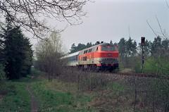 218 137 Bielefeld-Senne (A. Lippincott) Tags: db bahn train zug railway diesel baureihe 218 citybahn interregio senne sennebahn bielefeld nrw ostwestfalen