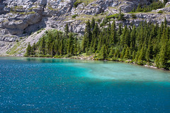 Cerulean Waters (Darren Umbsaar) Tags: mountains mountain carnarvon lake rockies alberta kananaskis country canadian canada water river blue aqua turquoise alpine tarn hike