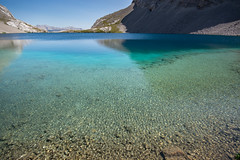 Alpine Oasis (Darren Umbsaar) Tags: mountains mountain carnarvon lake rockies alberta kananaskis country canadian canada water river blue aqua turquoise alpine tarn hike