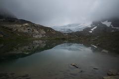 look to the Silvretta glacier (Toni_V) Tags: m2401415 rangefinder digitalrangefinder messsucher leicam leica mp typ240 type240 28mm elmaritm12828asph hiking wanderung randonnée escursione silvrettagletscher gletscherlehrpfad silvrettahütte bergsee mountainlake reflections alps alpen clouds sky fog rebel mist summer sommer gletschervorfeld silvrettagletscherlehrpfad switzerland schweiz suisse svizzera svizra europe graubünden grisons grischun landscape landschaft ©toniv 2019 190803