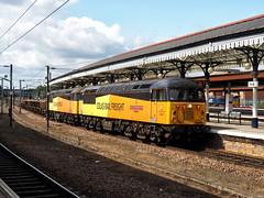 56049 & 56087 6S31 York 06-08-19 (Robin Patrick's Trains) Tags: colas 56049 56087 york