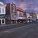 Delphos Ohio - Shenk's Bridal Fabrics - North Main Street at Sunrise