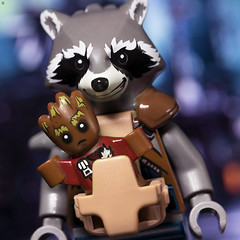 No one puts baby 'Groot' in the Carrier (Jezbags) Tags: babygroot groot lego legos toy toys rocket rocketraccoon marvel marvelstudios iamgroot canon canon80d 80d 100mm macro macrophotography macrodreams macrolego
