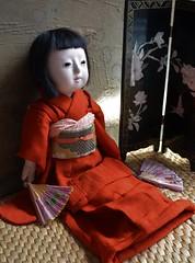 Emiko (shero6820) Tags: old vintage antique toy doll ningyo japanese gofun ichimatsu