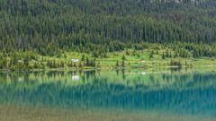 Icefields Parkway (pn.praveen) Tags: canada reflection green alberta banffnationalpark icefieldsparkway bowlake canadianrockies