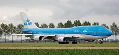 B747 | PH-BFW | AMS | 20190803 (Wally.H) Tags: boeing 747 boeing747 b747 phbfw klm royaldutchairlines 100 ams eham amsterdam schiphol airport