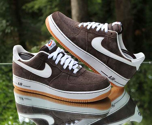 Nike Air Force 1 Low Men's Size 11.5 Baroque Brown White Gum