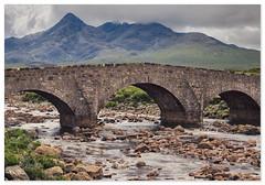 S L I G A C H A N (GOOD•NEWS•SNAPS) Tags: skye scotland sligachan bridge river mountains landscape clouds