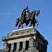 Street Art : Kaiser Wilhelm Statue, Koblenz