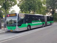 NLD Qbuzz 3078 ● Station Noord (Roderik-D) Tags: qbuzz30783079 3078 groningennoord 646131 bxsx98 stadslijn7 stadtbus stadsbus 2010 dieselbus euro5 mercedesbenz citaro2 o530g capacity45961 savas bege geledebus articulatedbus gelenkbus citybus 3axle 3doors ivu gorba