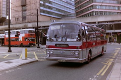 ABBOTT'S OF BLACKPOOL TFV147J (bobbyblack51) Tags: abbotts of blackpool tfv147j aec reliance plaxton elite manchester 1994