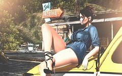 Hotter than Hell (desiredarkrose) Tags: gosboutique rkkn doux amitie nativetides swallow slblog slfashion avatar secondlife sl fashion secondlifestyle girl heel style