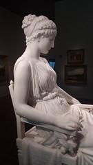 (sftrajan) Tags: franklinsimmons sculpture deyoungmuseum sanfrancisco marble artmuseum woman americanart americansculpture mujer femme