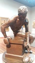 the Tired Boxer (sftrajan) Tags: douglastilden sculpture artmuseum boxer deyoungmuseum sanfrancisco americanart americansculpture escultura 1890s belleepoque gildedage californiaart