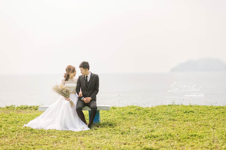 《自助婚紗》Cheng & Chen:蘭嶼婚紗1