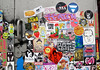 Stickercombo (wojofoto) Tags: amsterdam nederland netherland holland streetart stickers stickerart sticker stickercombo wojofoto wolfgangjosten wojo ndsm isoe nol psyco