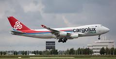 B747 | LX-SCV | AMS | 20190803 (Wally.H) Tags: boeing 747 boeing747 b747 lxscv cargoluxitalia ams eham amsterdam schiphol airport