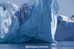 Artic world! (elbigote1946) Tags: iceberg huge massive greenland diskobay drippingwater asblueasbluecanbe
