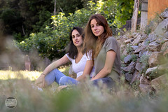 Friends (Marcosbamala) Tags: canbarnic julia nora retrato photo photography picture pic photograph montseny arbucies retrat portrait canon catalunya catalonia eos eos77d yongnuo 50mm girl noia chica girls chicas noies green verde verd vegetacion vegetacio naturaleza nature naturalesa