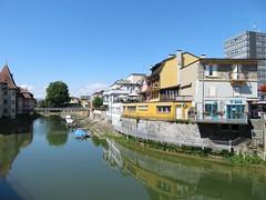 Pont de Gleyres Yverdon-les-Bains (portemolitor) Tags: cantondevaud yverdonlesbains pontdegleyres lathièle pont de gleyres la thièle