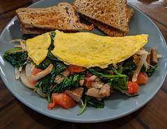 Omelette at Mustard Seed Cafe (JavaJoba) Tags: ameliaisland food omelette mustardseedcafe jackkennard fernandinabeach florida unitedstatesofamerica