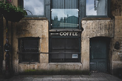 A SHORT STORY ABOUT A WAY TO THE CUP OF ESPRESSO (ignacy50.pl) Tags: cityscape cityview oldstreet oldtown colorful signage vintage london streetview