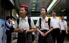 Red hair girls (Bill Morgan) Tags: fujifilm fuji xpro2 f2 alienskin exposurex4 35mm