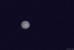 Jupiter and three Moons (testdummy76) Tags: jupiter planet universe astro astronomy astronomie astrofotografie astrophotography nightsky astrogeeks explorescientific ioptron