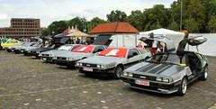 DeLoreans (Schwanzus_Longus) Tags: street mag show hannover german germany us usa america american old classic vintage car vehicle coupe coupé delorean de lorean dmc 12