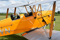 Tiger Moth (GJC1) Tags: dehavilland dehavillandmothclub charityflying oldwarden tigermoth geoffcollins gjc1