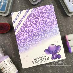 elefant3 (HartWildCards) Tags: sss kaleidoscope sssflickrchallenge129 mft wow oxide purple adorable elepfants