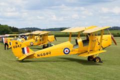 Yellow Tigers (GJC1) Tags: dehavilland dehavillandmothclub charityflying oldwarden tigermoth geoffcollins gjc1