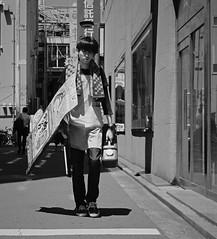 Starting the day (Bill Morgan) Tags: fujifilm fuji xpro2 35mm f2 bw jpeg acros alienskin exposurex4