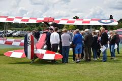 Briefing for flight (GJC1) Tags: dehavilland dehavillandmothclub charityflying oldwarden tigermoth geoffcollins gjc1
