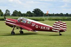 Miles Messenger (GJC1) Tags: dehavilland dehavillandmothclub charityflying oldwarden tigermoth geoffcollins gjc1