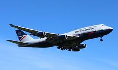 G-BNLY Boeing 747-436 British Airways Landor retro livery (R.K.C. Photography) Tags: gbnly boeing 747436 b747 british britishairways baw ba ba100 speedbird landor retro england unitedkingdom uk london londonheathrowairport lhr egll canoneos750d cityofswansea