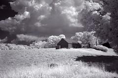 IMG_2084 (Dan Correia) Tags: belchertown infrared clouds shadows barn photoshop canonef50mmf14usm 15fav 510fav topv111 addme200