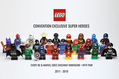 All 24 LEGO Super Heroes Convention Exclusive Minifigures (2011 to 2019 NYTF & SDCC) (Ma₪go) Tags: lego new york toy fair san diego comic con convention minifigure minifigures minifgs minifig collection every year 2011 2012 2013 2014 2015 2016 2017 2018 2019 legohead458 lowmango