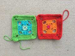 IMG_1033 (crochetbug13) Tags: crochet crocheted crocheting crochetsquares grannysquares grannysquareafghan crochetafghan crochetblanket grannysquareblanket