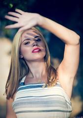 Mara (Vagelis Pikoulas) Tags: canon 6d sigma 85mm art f14 bokeh girl girls woman women porto germeno greece summer 2019 august photoshoot shadow