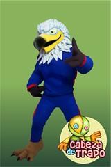 Botarga_Aguila_blanca_mascot_costume_Eagle (cabezadetrapo) Tags: botargascabezadetrapo botarga botargas mascot mascots costumes costume cosplay anime character personaje mascotte cabezudos sport adversting disfraz disfraces corporeos aguila aguilas eagle eagles