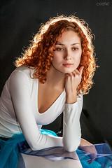 _MG_5070 (Mikhail Lukyanov) Tags: portrait girl woman beautiful prettystudio red