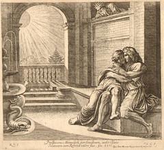 Isaac tells men Rebekah is his sister (Genesis 26:1 -26:11) (bibleblender) Tags: abimelech abraham famines genesis gerar isaac rebekah