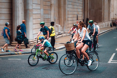The Boris legacy (Мaistora) Tags: street city urban cityoflondon squaremile bankofengland cycling bikes bicycles kids family professionals fun entertainment circus ride prudential london boris borisbike borisjohnson mayor pm weekend colour colourful leica typ109 dlux lightroom luminar skylum